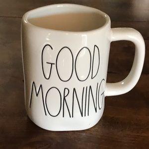 """Rae Dunn """"Good Morning"""" Coffee ☕️ Mug-NWOT"""